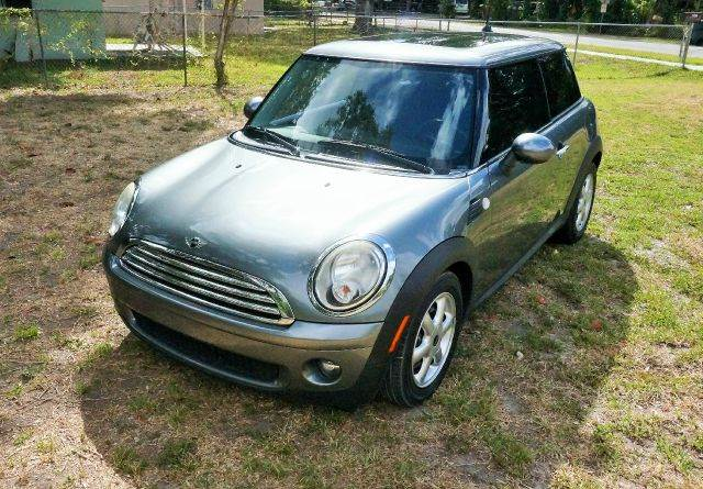 2010 MINI COOPER PREMIUM 2DR HATCHBACK gray 2-stage unlocking abs - 4-wheel air filtration air