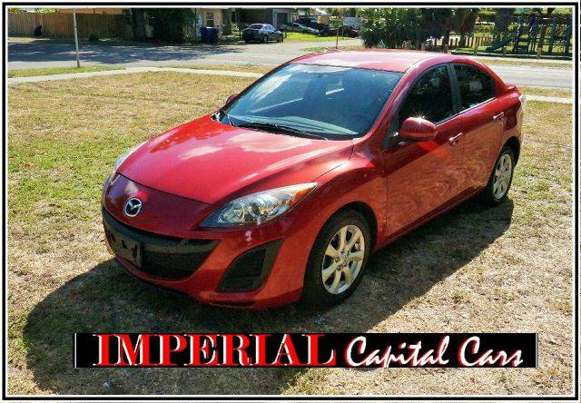 2011 MAZDA MAZDA3 I TOURING 4DR SEDAN 5A red 2-stage unlocking - remote abs - 4-wheel air filtr