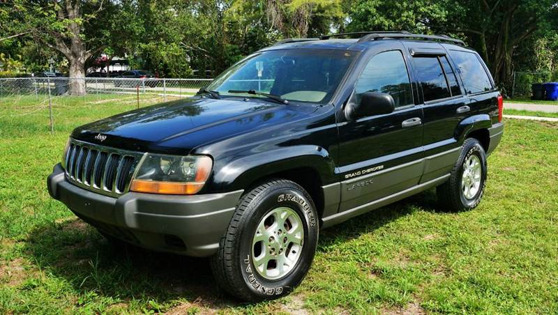 2001 JEEP GRAND CHEROKEE LAREDO 2WD 4DR SUV black abs - 4-wheel anti-theft system - alarm axle