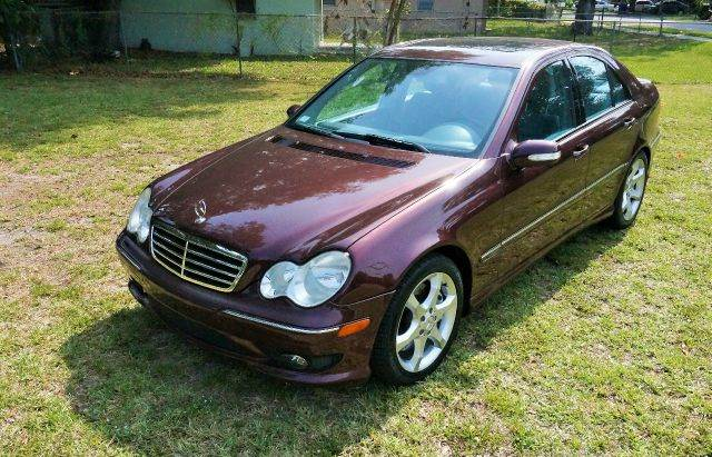 2007 MERCEDES-BENZ C-CLASS C230 SPORT 4DR SEDAN 2-stage unlocking - remote abs - 4-wheel air fil