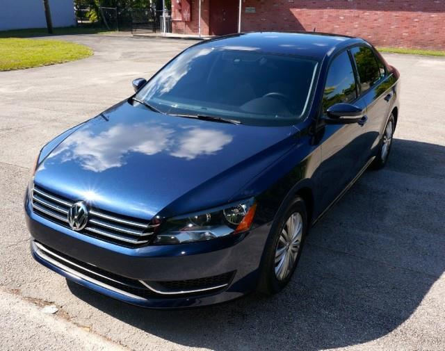 2014 VOLKSWAGEN PASSAT S LIKE NEW LOW MILES LOW PAYM night blue metallic imperial capital cars