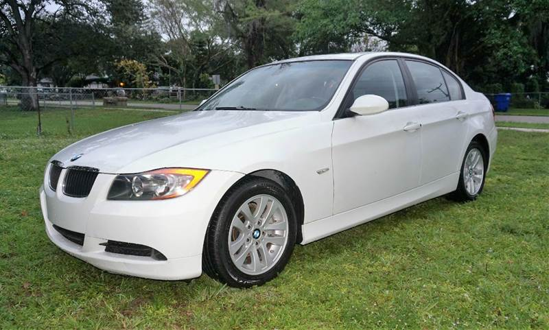 2007 BMW 3 SERIES 328I 4DR SEDAN white call 1-754-210-3703 for sales this vehicle fully load