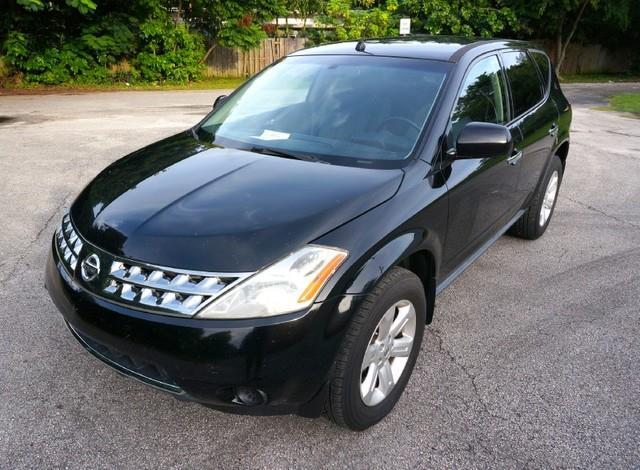2007 NISSAN MURANO S LOADED ALLOY WHEELS super black imperial capital cars is hollywood florida