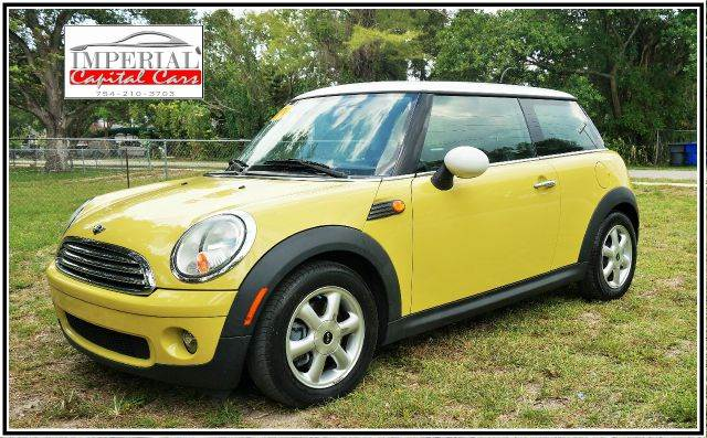 2010 MINI COOPER 2DR HATCHBACK yellow 2-stage unlocking abs - 4-wheel air filtration airbag de