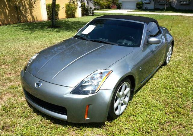 2005 NISSAN 350Z TOURING SPORT PACKAGE LEATHER silverstone metallic imperial capital cars is holl
