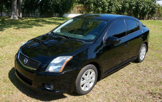 2011 NISSAN SENTRA 20 SR 4DR SEDAN black 2-stage unlocking - remote abs - 4-wheel air filtrati