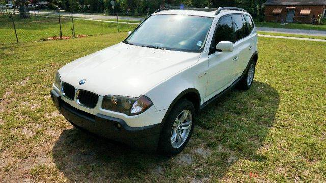 2005 BMW X3 30I AWD 4DR SUV white abs - 4-wheel center console - front console with storage ce