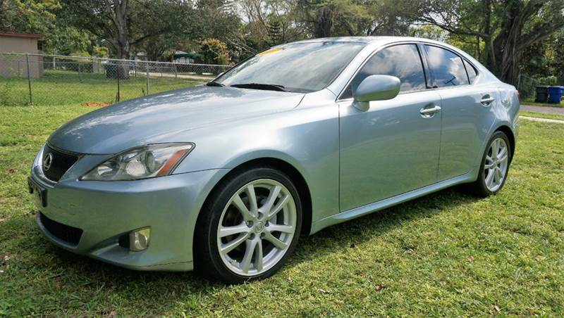 2007 LEXUS IS 250 BASE 4DR SEDAN 25L V6 6A call 1-754-210-3703 for sales this vehicle full
