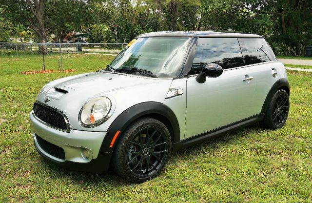 2009 MINI COOPER S 2DR HATCHBACK gray 2-stage unlocking abs - 4-wheel air filtration airbag de