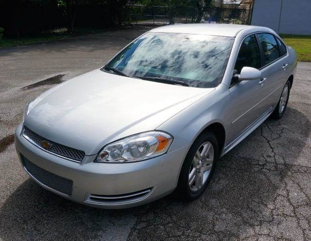 2013 CHEVROLET IMPALA LT FLEET 4DR SEDAN silver ice metallic imperial capital cars is hollywood f