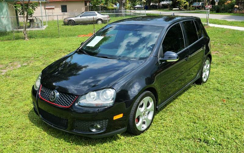 2008 VOLKSWAGEN GTI BASE 4DR HATCHBACK 6A black call 1-754-210-3703 for sales this vehicle f