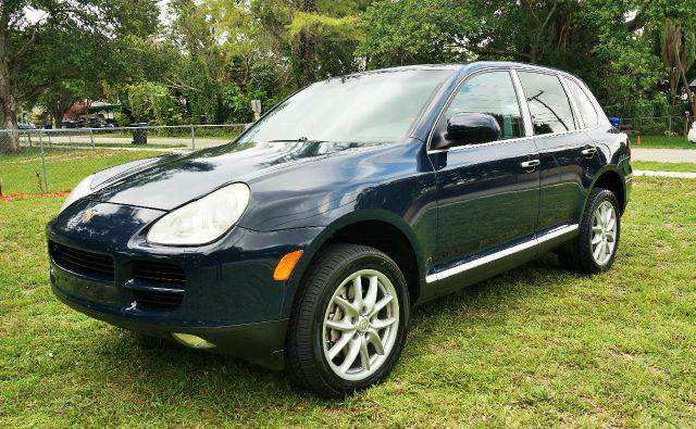 2004 PORSCHE CAYENNE S AWD 4DR SUV abs - 4-wheel anti-theft system - alarm axle ratio - 410 ce