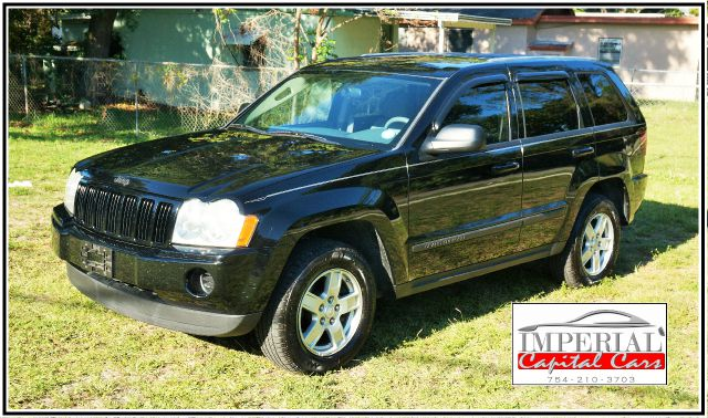 2007 JEEP GRAND CHEROKEE LAREDO 4DR SUV black 2-stage unlocking - remote abs - 4-wheel airbag d