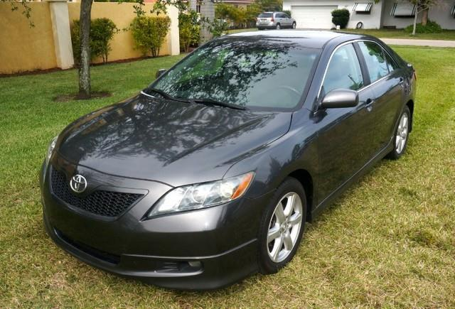 2007 TOYOTA CAMRY SE SPECIAL EDITION LOADED magnetic gray metallic this 2007 toyota camry is off