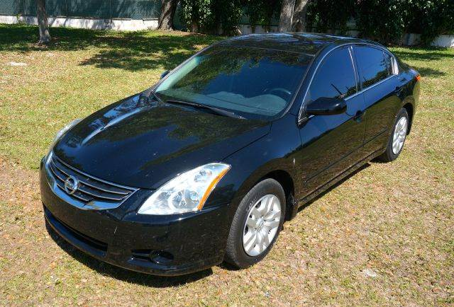 2012 NISSAN ALTIMA 25 S 4DR SEDAN black 2-stage unlocking - remote abs - 4-wheel air filtratio