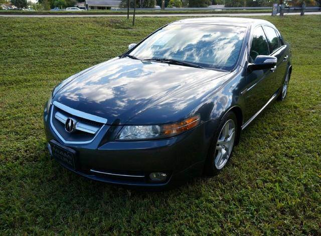 2007 ACURA TL LEATHER SUNROOF ALLOY WHEELS unspecified imperial capital cars is hollywood florid