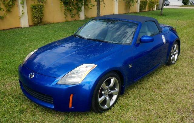 2005 NISSAN 350Z TOURING CLEAN CARFAX LEATHER blue imperial capital cars inc is honored to pre