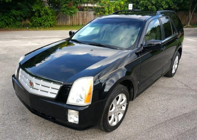 2007 CADILLAC SRX NAVIGATION RD ROW PANORAMIC R black raven imperial capital cars is hollywood