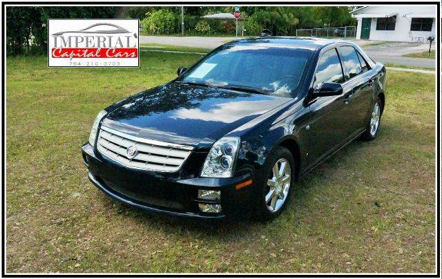 2006 CADILLAC STS V8 AWD 4DR SEDAN blue abs - 4-wheel air suspension - rear antenna type anti-