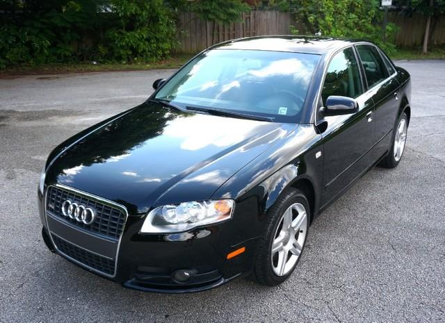 2008 AUDI A4 20T S LINE LEATHER PREMIUM P brilliant black imperial capital cars is hollywood f