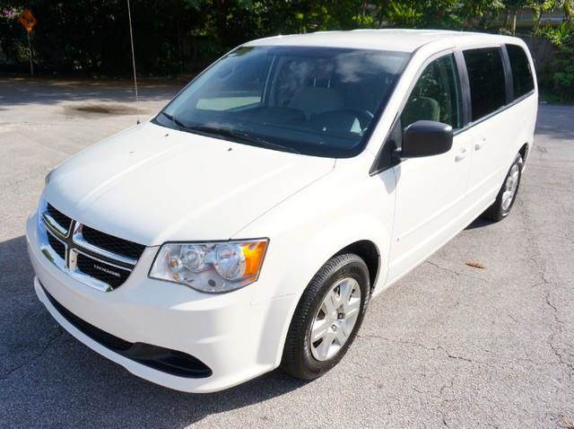 2011 DODGE GRAND CARAVAN EXPRESS 4DR MINI VAN stone white imperial capital cars is hollywood flori