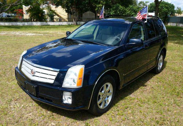 2008 CADILLAC SRX V6 4DR SUV blue 2-stage unlocking - remote abs - 4-wheel airbag deactivation