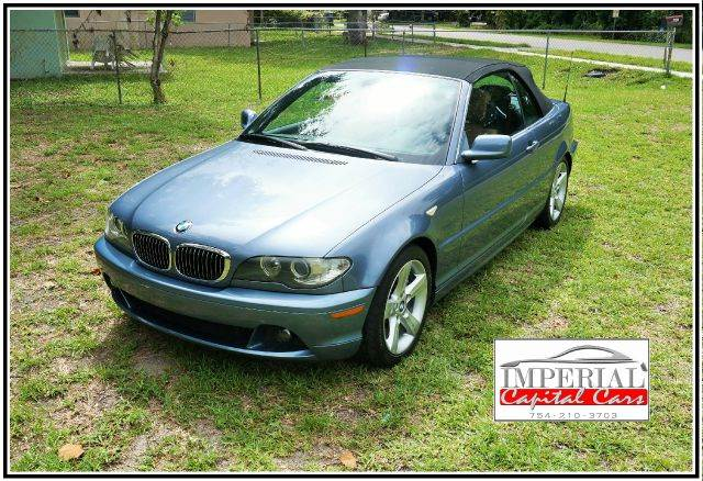 2005 BMW 3 SERIES 325CI 2DR CONVERTIBLE blue abs - 4-wheel center console - front console with s