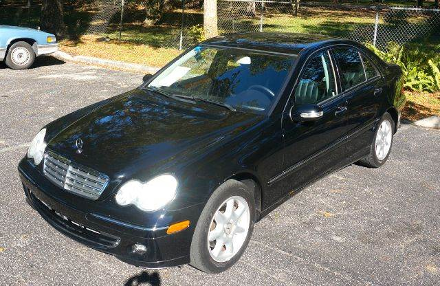 2006 MERCEDES-BENZ C-CLASS C280 LUXURY 4DR SEDAN black abs - 4-wheel air filtration airbag deac