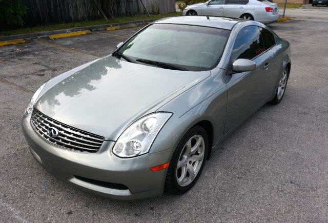 2006 INFINITI G35 BASE 2DR COUPE 35L V6 5A gray abs - 4-wheel air filtration airbag deactiva