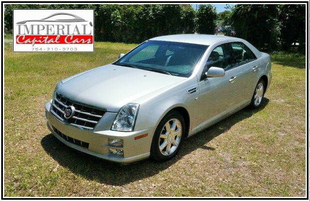 2008 CADILLAC STS V6 SEDAN silver 2-stage unlocking - remote abs - 4-wheel air filtration airb