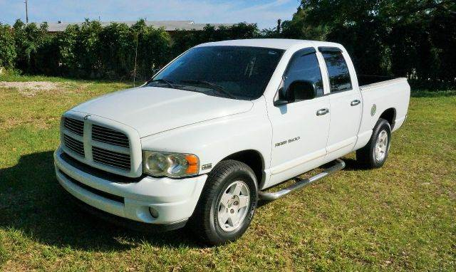 2005 DODGE RAM PICKUP 1500 SLT 4DR QUAD CAB RWD LB white axle ratio - 321 bumper color - chrome