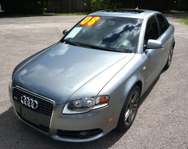 2006 AUDI A4 20T PREMIUM PACKAGE dolphin gray metallic imperial capital cars is hollywood florid