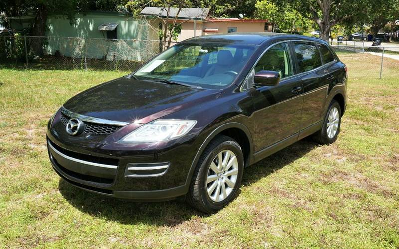 2008 MAZDA CX-9 TOURING 4DR SUV burgundy 2-stage unlocking - remote abs - 4-wheel ambient light