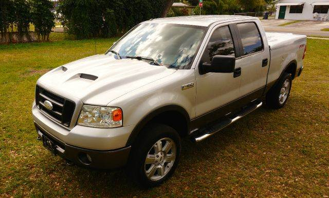 2006 FORD F-150 FX4 4DR SUPERCREW 4WD STYLESIDE silver 4wd type - part time abs - 4-wheel airba