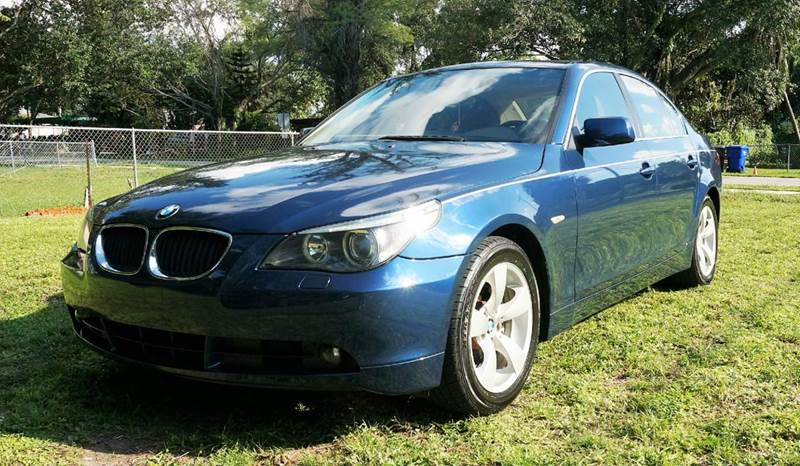 2005 BMW 5 SERIES 530I 4DR SEDAN call 1-754-210-3703 for sales this vehicle fully loaded wit