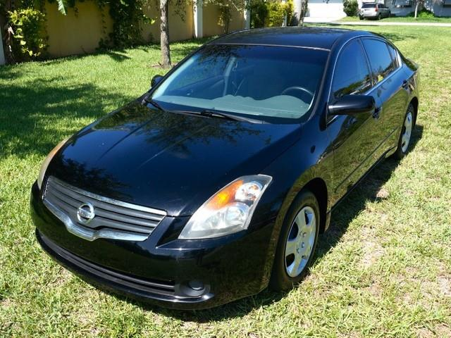 2007 NISSAN ALTIMA 25 S super black city 26hwy 34 25l enginecontinuously variable transbody