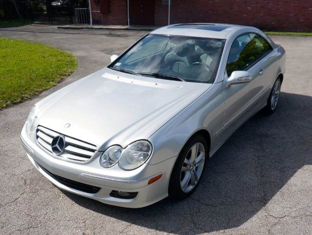 2006 MERCEDES-BENZ CLK-CLASS CLK350 2DR COUPE iridium silver metallic imperial capital cars is hol
