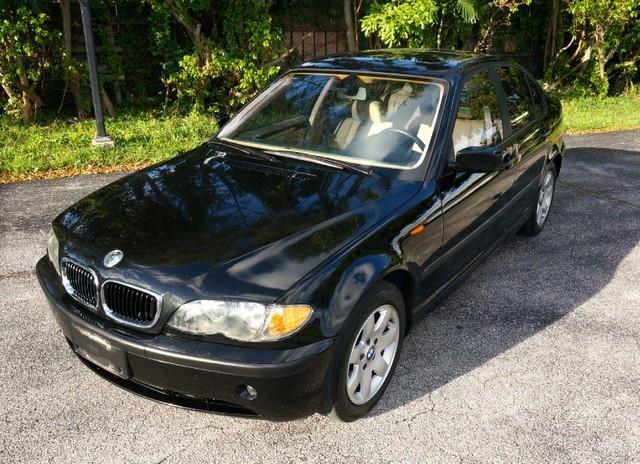 2004 BMW 3 SERIES 325I 4DR SEDAN jet black imperial capital cars is hollywood floridas 1 used ca