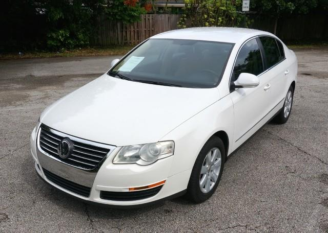 2007 VOLKSWAGEN PASSAT 20T LEATHER PREMIUM PACKAGE candy white imperial capital cars is hollywo