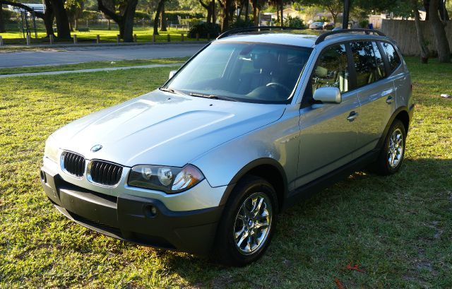 2005 BMW X3 30I AWD 4DR SUV silver abs - 4-wheel center console - front console with storage c