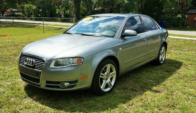 2007 AUDI A4 20T QUATTRO AWD 4DR SEDAN 2L I gray 2-stage unlocking - remote 4wd type - full ti