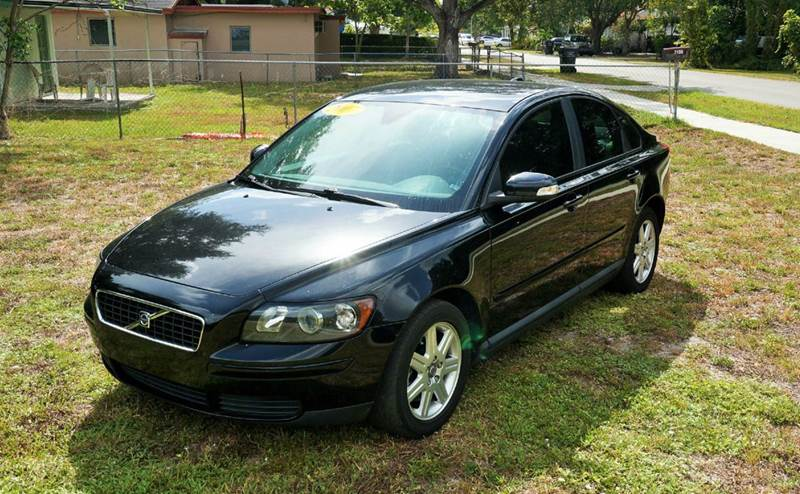 2007 VOLVO S40 24I 4DR SEDAN black call 888-503-0114 for sales  imperial capital cars is p