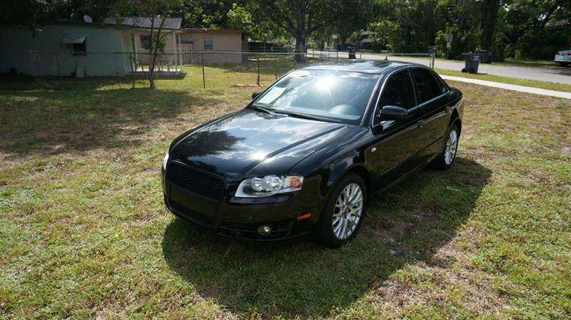 2008 AUDI A4 20T 4DR SEDAN 2L I4 black call 888-503-0114 for sales  imperial capital cars is