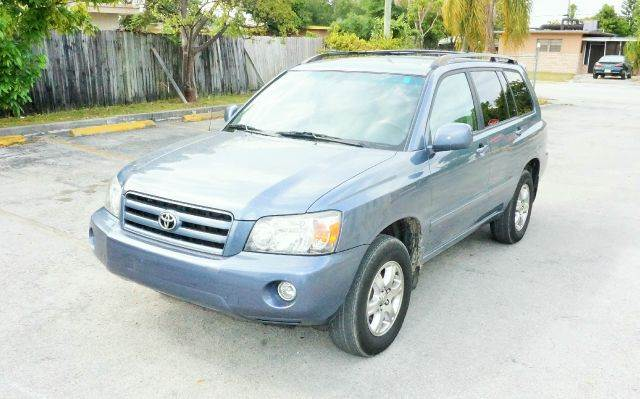 2007 TOYOTA HIGHLANDER LIMITED AWD 4DR SUV W3RD ROW blue 2-stage unlocking - remote abs - 4-whe
