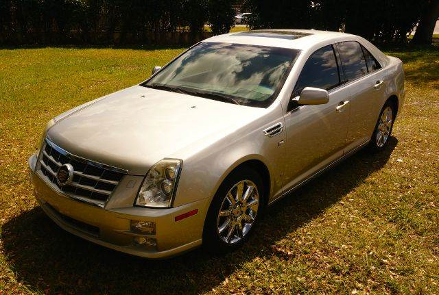 2008 CADILLAC STS V8 SEDAN W NAVIGATION black call 888-503-0114 imperial capital cars is prou