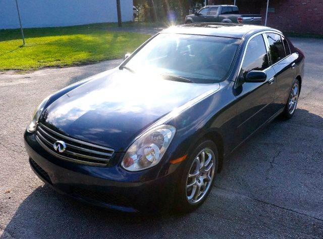 2006 INFINITI G35 BASE 4DR SEDAN 35L V6 5A twilight blue pearl abs - 4-wheel air filtration