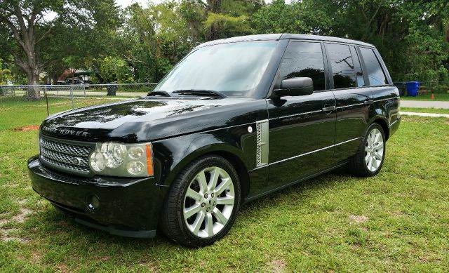 2006 LAND ROVER RANGE ROVER SUPERCHARGED 4DR SUV 4WD balck 4wd type - full time abs - 4-wheel a