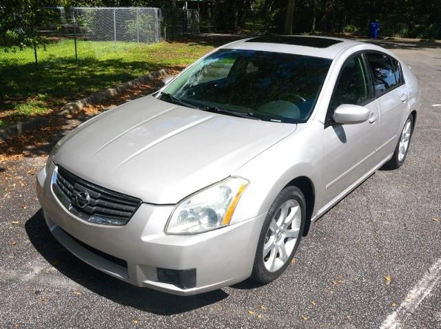 2007 NISSAN MAXIMA 35 SE SPECIAL EDITION LEATHER radiant silver metallic imperial capital cars