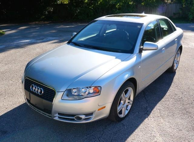 2007 AUDI A4 20T S-LINE LOADED light silver metallic imperial capital cars is hollywood florid