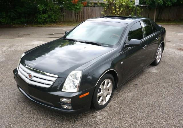 2005 CADILLAC STS V8 PREMIUM PACKAGE NAVIGATION moonstone imperial capital cars is hollywood fl